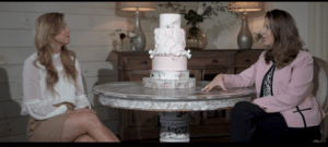 Video Still: Karen Gramlich of Winey Blonde Events Co interviews Jenean Carlton of Carlton's Cakes, Atlanta